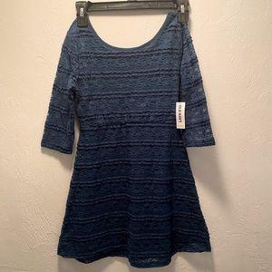 🛑Blue Lace dress